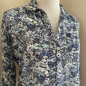 Ann Taylor LOFT Floral Blouse - Women's MED